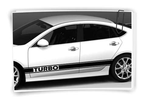 Racing Streifen Aufkleber Auto by Turbo Rally Autoaufkleber Seitenaufkleber Streifen