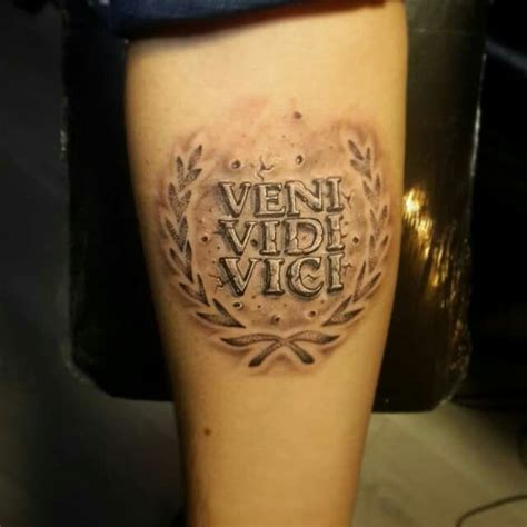 i came i saw i conquered tattoo best 25 veni vidi vici ideas on conquer
