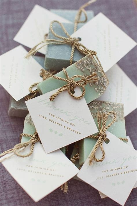 Handmade Wedding Souvenirs Ideas - soap wedding favors wedding favors ideas
