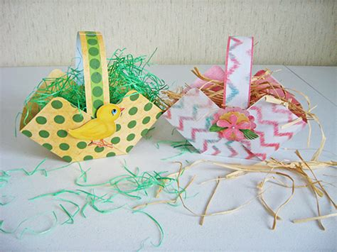 card easter basket template festival collections