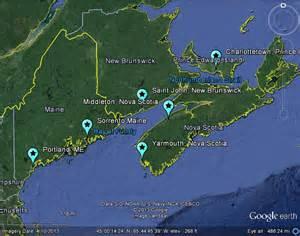 maine canada map the worldwide meteor meteorite news mbiq detects