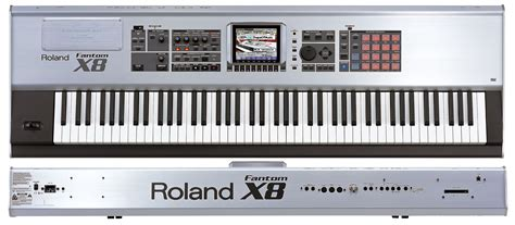 Keyboard Roland X8 roland fantom x8 image 426381 audiofanzine