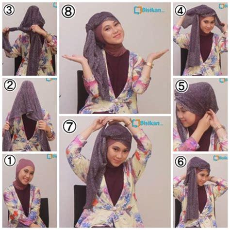 tutorial hijab pesta nikahan tutorial hijab untuk pesta pernikahan 3