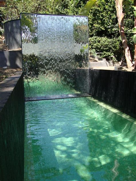 pool fountains and waterfalls 1000 ideas about pool fountain on pinterest pool ideas