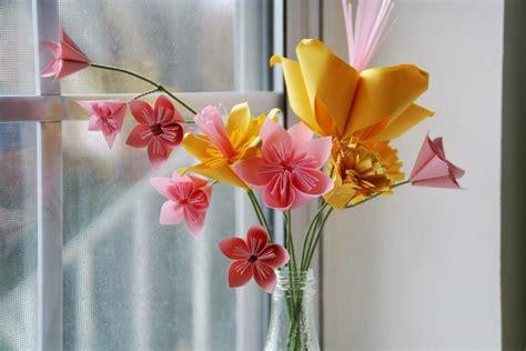Blumenstrauß Aus Papier Basteln 4726 by Basteln Mit Kindern 100 Origami Diy Projekte
