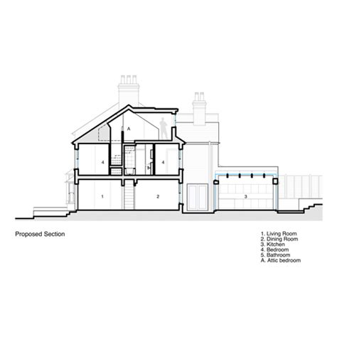 Dormer Window Section Plan A Architects Berkhamsted Rear Extension