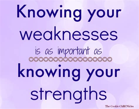 strengths to owning a second property your weaknesses the cookie chrunicles