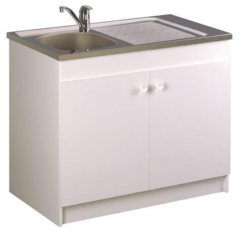meuble sous evier 110 cm meuble de cuisine sous 233 vier sesame aquarine pro