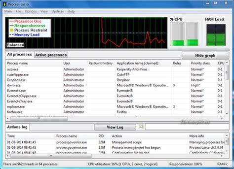 Process Lasso Giveaway - download process lasso 9 0 0 426 khắc phục sự cố m 225 y t 237 nh bị treo