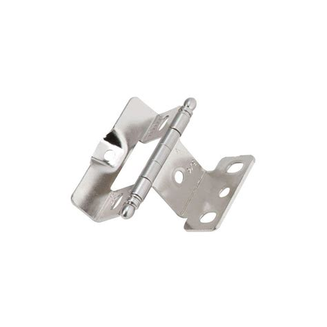 overlay cabinet hinges amerock products cabinet hinges home depot amerock 1 4 in overlay concealed cabinet hinge 2 pack