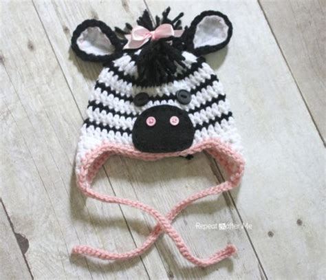 zebra pattern crochet the cutest collection of zebra crochet the whoot
