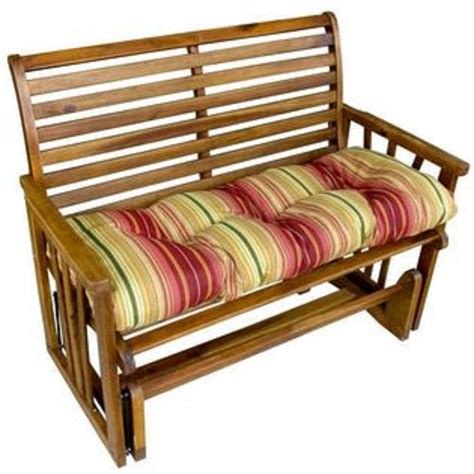 46 inch bench cushion essential garden 2 seat garden swing limited availability