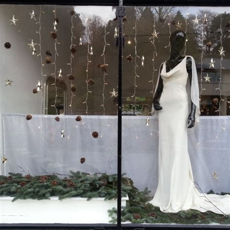 Wedding Window by Twelve Window Displays In Bath Wedding Dress Shop