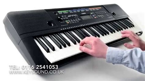 tutorial keyboard yamaha psr yamaha psr e253 keyboard demo youtube