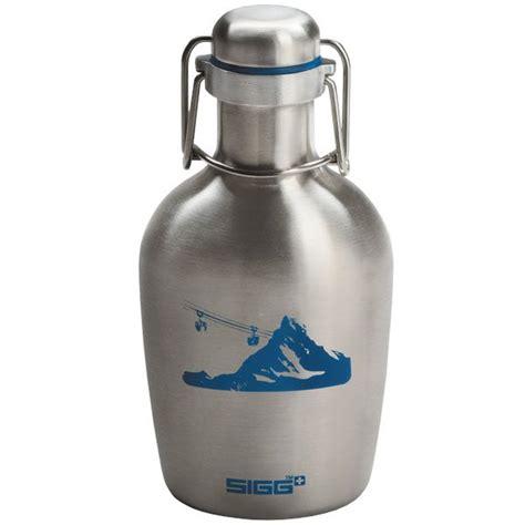 swing top water bottle sigg vintage oval water bottle swing top lid 0 4l