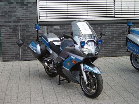 Motorrad In Frankfurt by Ein Bmw Polizei Motorrad In Frankfurt Am Main Am 28 05 11