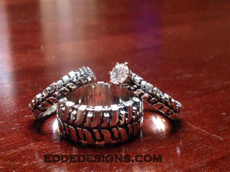 cool wedding ring 2016 mud bogger wedding ring set