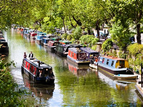 canal boat icon little venice guide canals boat trips restaurants