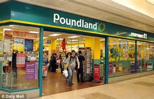 163 40m poundland budget chain cashes in on recession as