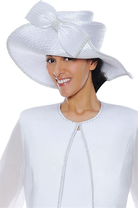 hats white g4393h not just church suits