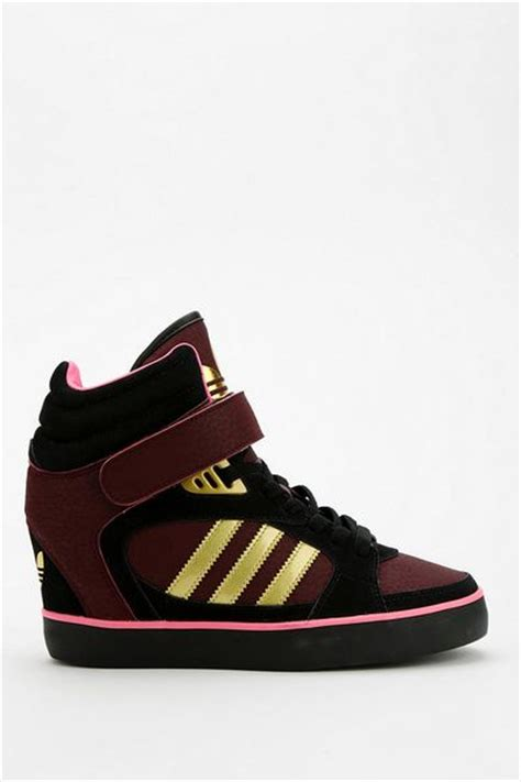 adidas high top wedge sneakers outfitters adidas amberlight wedge high top