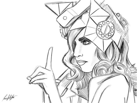 Gaga Coloring Pages gaga coloring pages coloring home