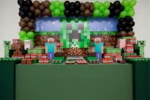 Jeux Vidéo De Minecraft 1903 by Decora 231 227 O De Anivers 225 Tema Minecraft