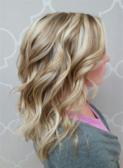 layred hairstyles eith high low lifhts blonde dimensional hair colors 2017 with low lights layers