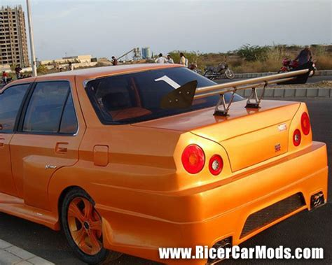 ricer skyline honda accord r34 lights