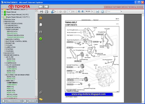 toyota previa electrical wiring diagrams toyota liteace