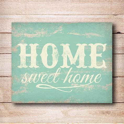 home sweet home print home sweet home sign rustic wall