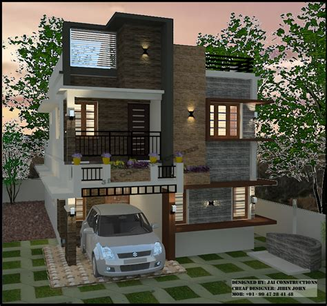 3 bedroom house plans archives kerala model home plans