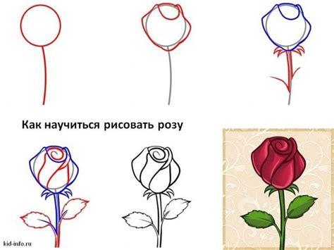 imagenes de flores para dibujar faciles paso a paso imagenes de rosas para dibujar paso a paso imagui