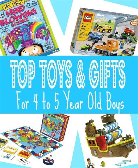 best gifts for 4 year old boys in 2015