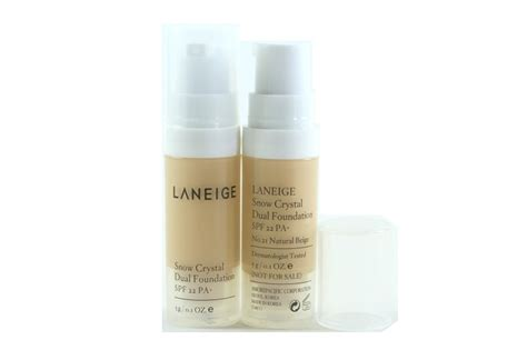 Laneige Snow Dual Foundation tester laneige snow dual foundation jpg