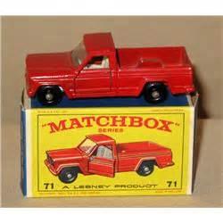 71 Jeep Truck Matchbox 71 Jeep Truck