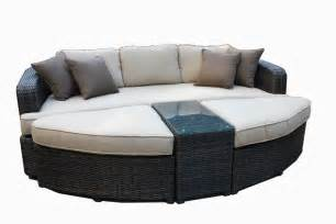 rattan daybed kontiki conversation sets wicker daybeds monte carlo 4 piece daybed set