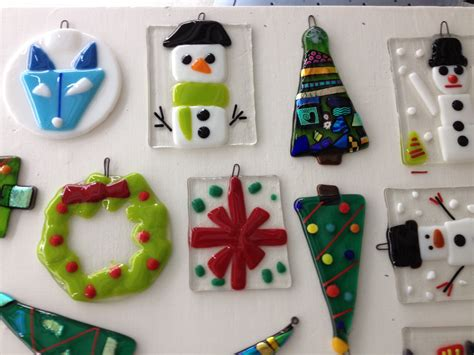 fused glass fused glass ornaments visarts