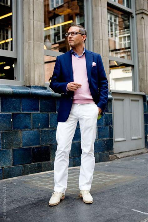 mens preppy style a winning blazer pants combo the good stuff pinterest