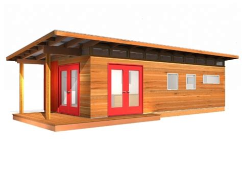 Shed R Kit by Modern Shed Kit 14 X 30 Coastal Prefab Laneway House