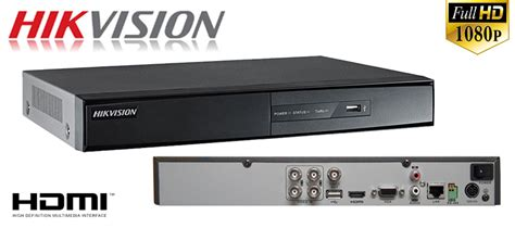 Cctv 2 Megapixel 4in1 1080p 4 channel hikvision digital recorder with 2 1mp 4in1