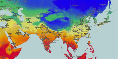 average january temperature world map thematic maps and city maps climate