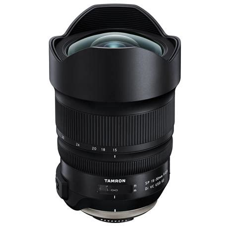 tamron sp 15 30mm f/2.8 vc usd g2 lens for canon ef mount