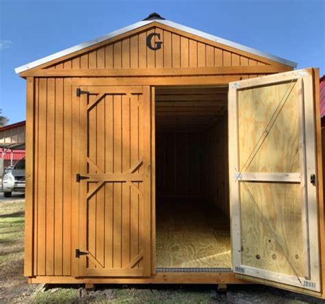 garden shed urethane ravenel buildings