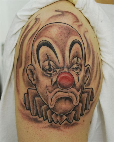 payaso tattoo designs tatuajes de payasos clown and evil clown