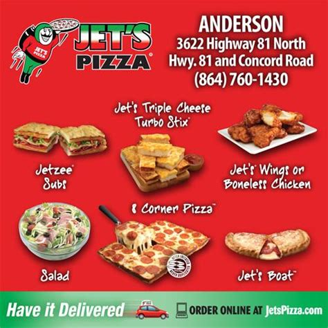 Jets Pizza Gift Card - jets pizza anderson sc 29621 864 760 1430 fast food