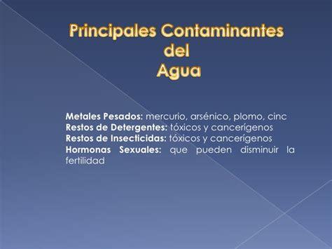 soneto sobre la contaminacin del agua presentaci 243 n sobre la contaminaci 243 n del agua