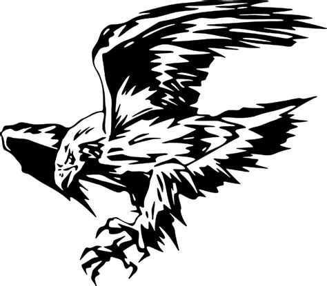 juste 11 eagle graphic decal stickers customized online