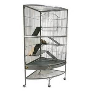 Ferret Cages ? Corner Ferret Cage   PetSolutions
