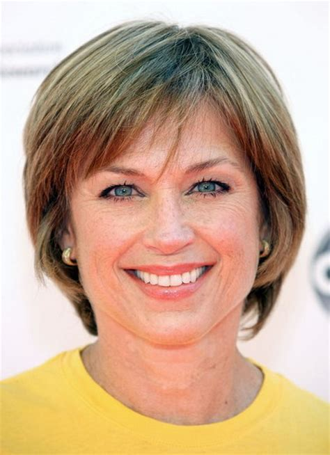 hair cuts short for age 50 women short straight hairstyles for women over 50